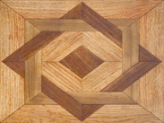 Custom Oak Parquet Design