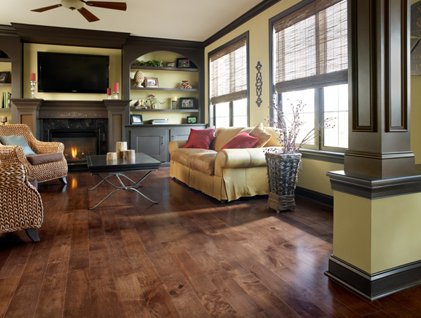 Wood Flooring rooms